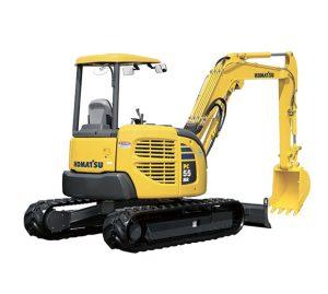 Komatsu Mini Excavators